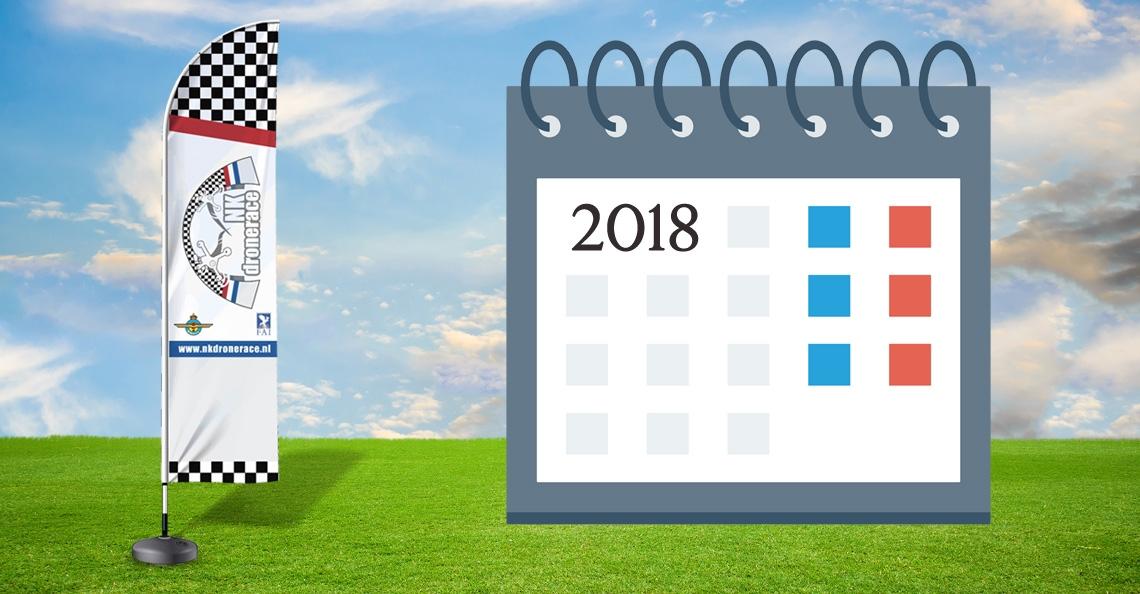 NK Drone Race presenteert agenda seizoen 2018