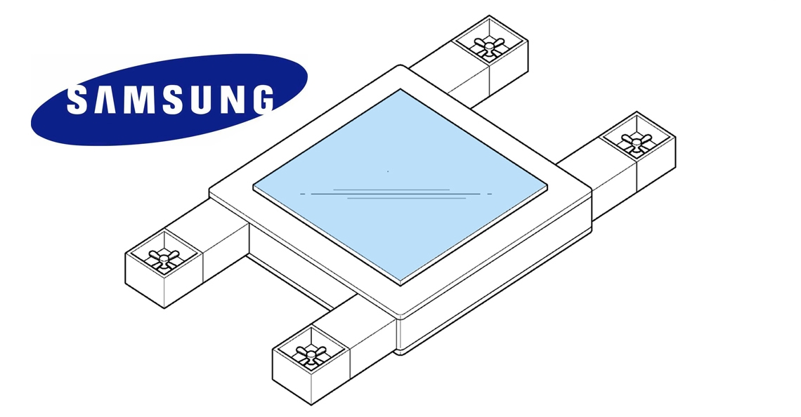 Samsung patenteert drone met display