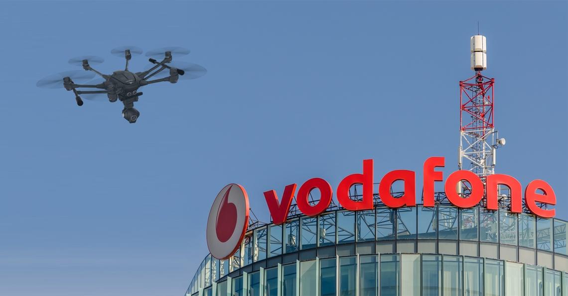 Vodafone test 4G volgsysteem voor drones
