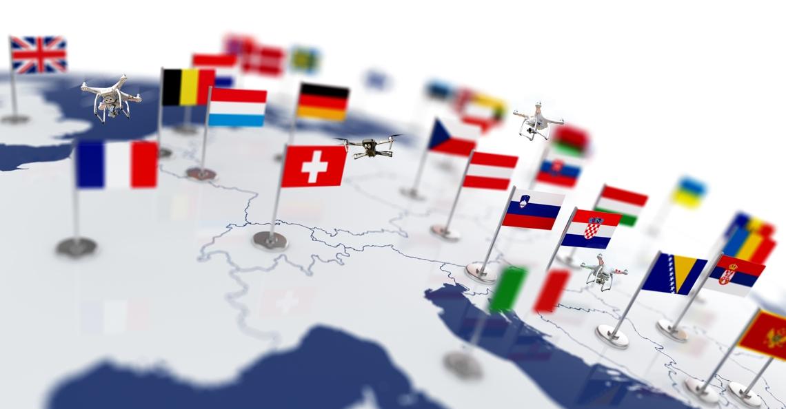 EASA publiceert richtlijnen Europese drone regelgeving