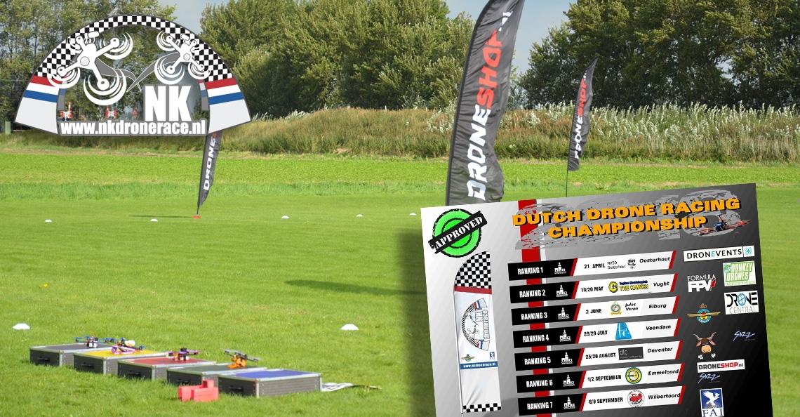 Locaties bekend NK Drone Race seizoen 2018