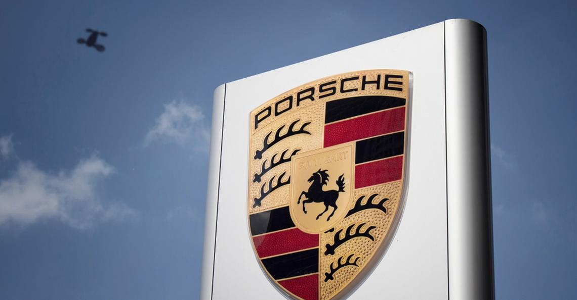 Porsche werkt aan vliegende passagiers-drones