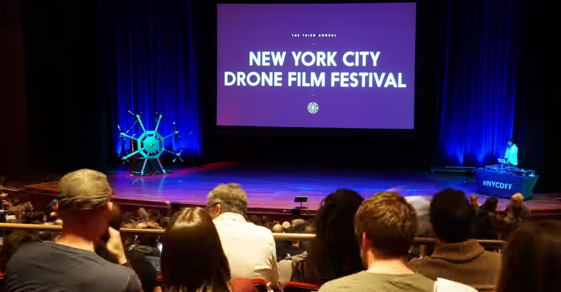 Winnaars New York City Drone Film Festival 2018