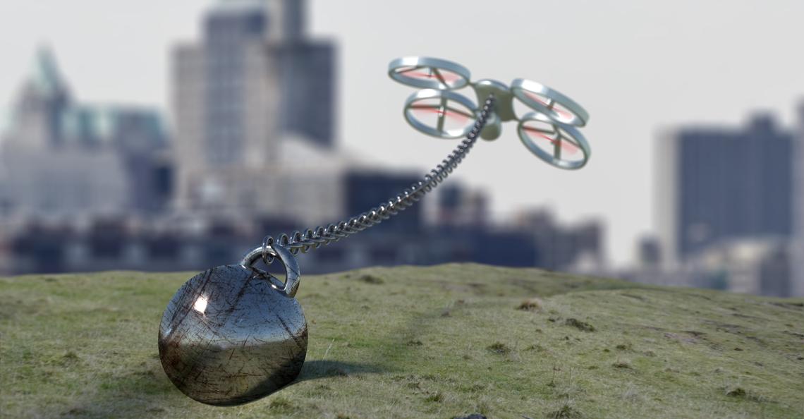 Regelgeving beperkt professionele minidrone-piloten
