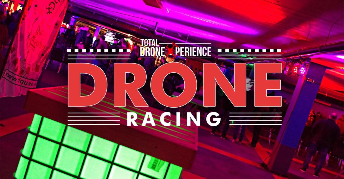 Drone Racing in winkelcentrum Middenwaard op 24 maart 2018