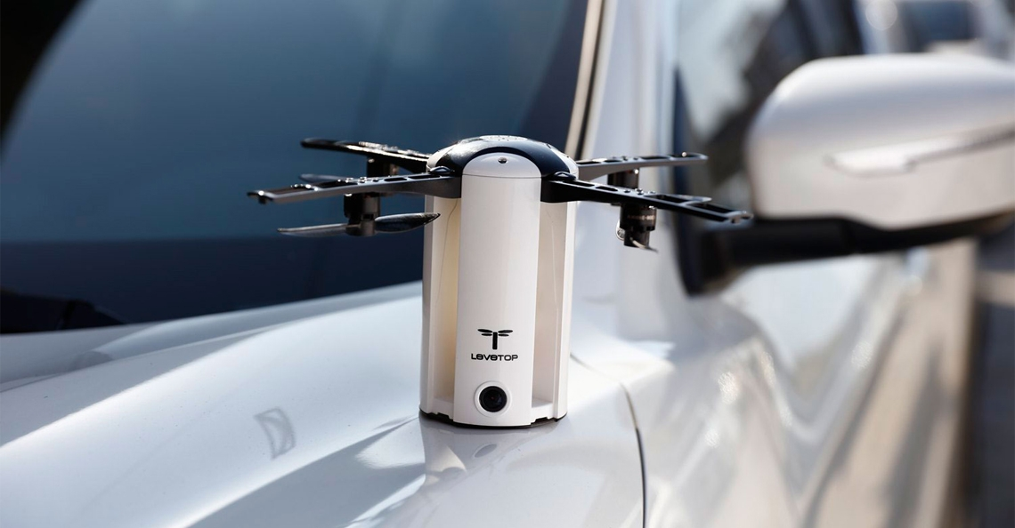LeveTop drone behaalt crowdfundingdoel binnen 24-uur