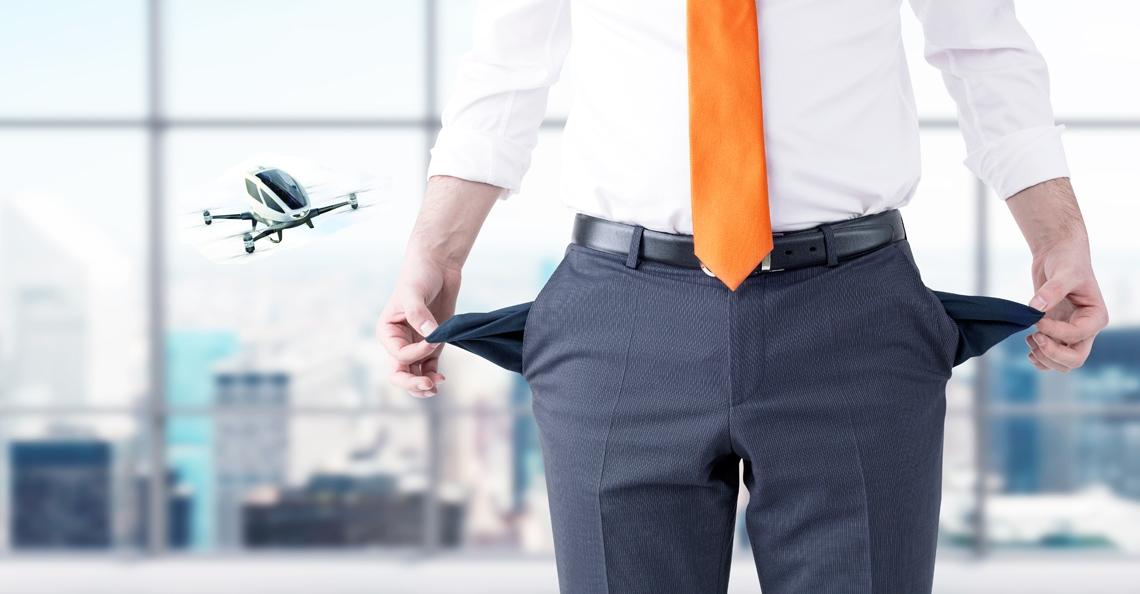 Dronefabrikant EHang vraagt faillissement aan in de Verenigde Staten