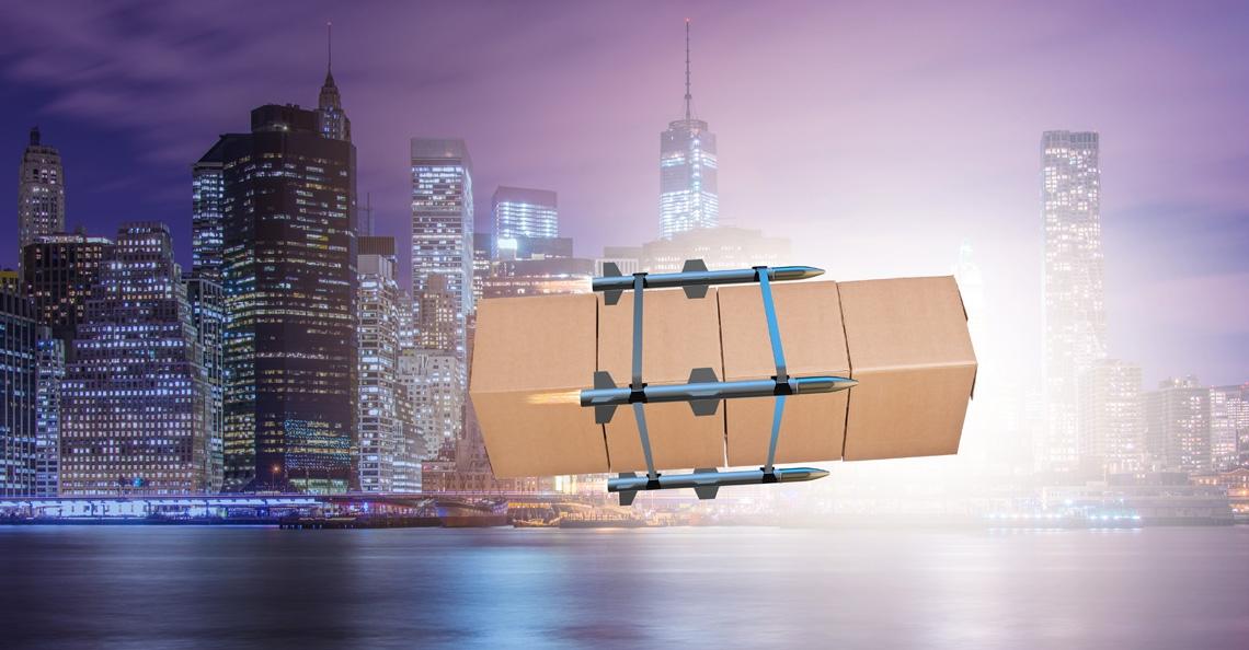 Drone Delivery Canada wil palletzendingen gaan bezorgen