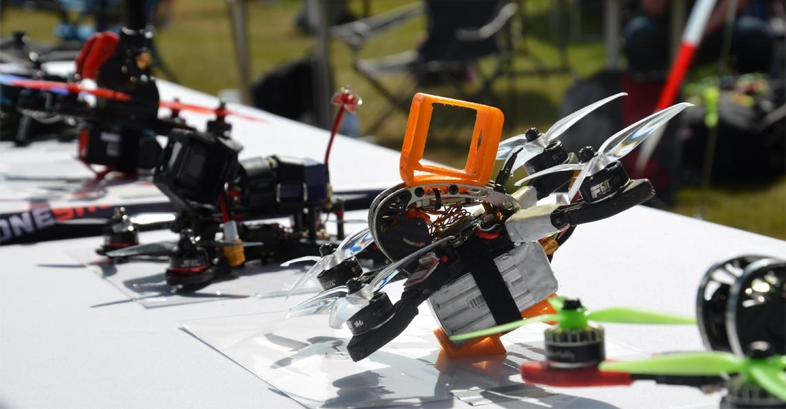 Nederlands Kampioenschap Drone Race zaterdag van start