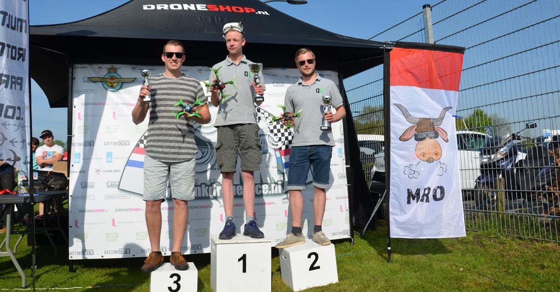 Dennis Mennema (DroneDFPV) wint eerste ranking NK Drone Race 2018