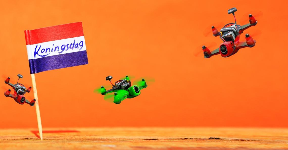 Koningsdag wordt droningsdag op Groningen Airport Eelde