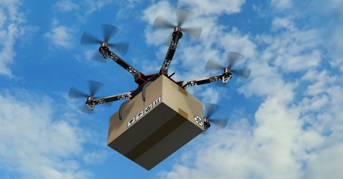 Drones met telefoons en drugs onderschept boven gevangenis Curaçao