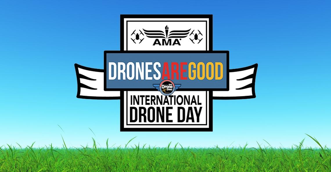 Vandaag is het International Drone Day!