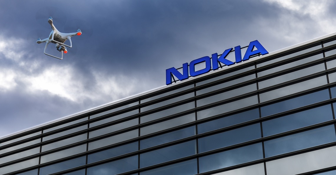 Nokia niet langer betrokken bij dronecentrum Space53 Twente Airport