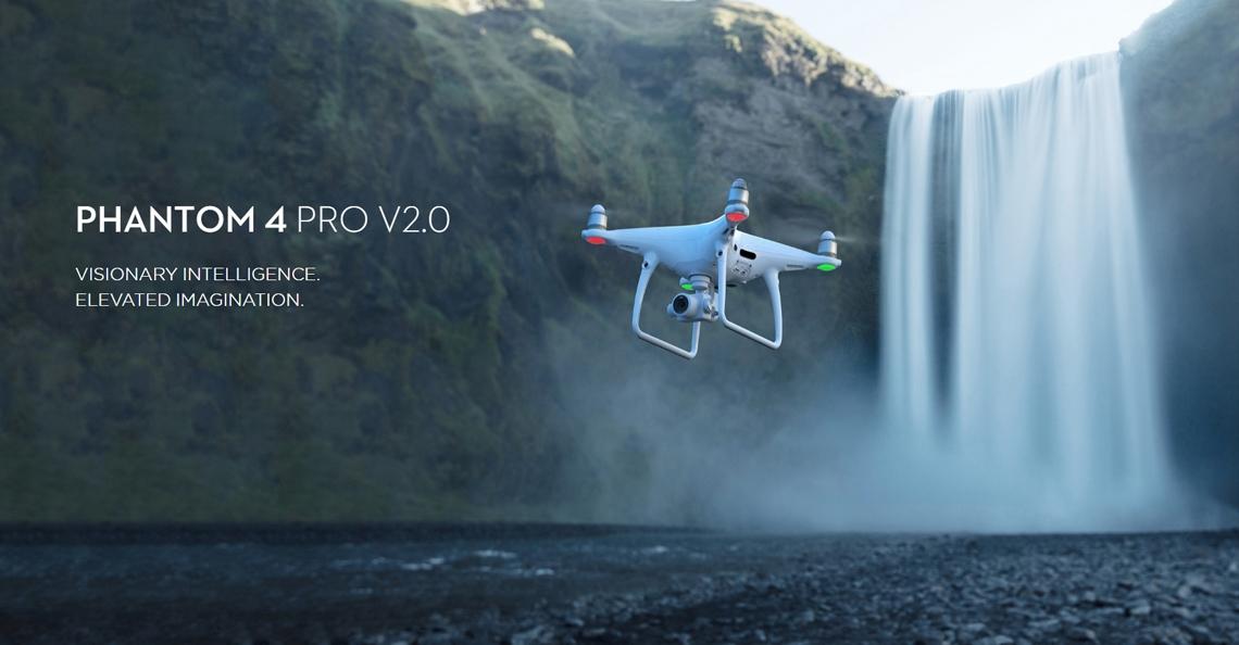 DJI presenteert Phantom 4 Pro versie 2.0