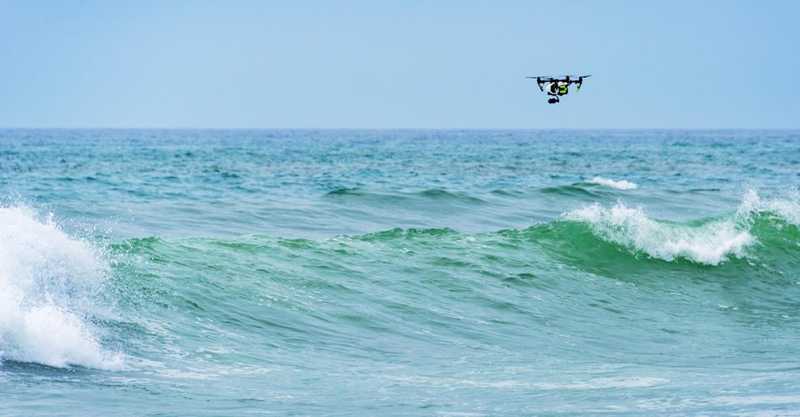 Reddingsdienst zet drones in op Oostzee