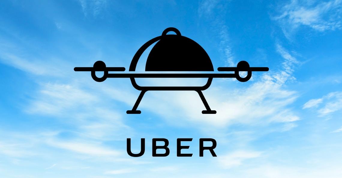 Uber is van plan om maaltijdbezorging met drones te testen