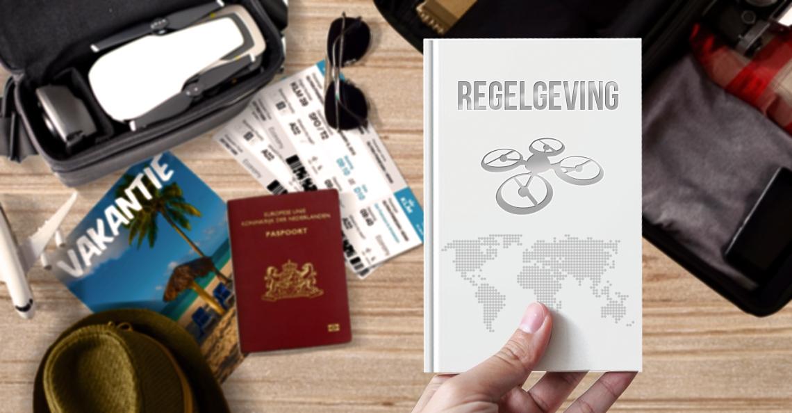 Drone mee op vakantie: de belangrijkste regels in Europa
