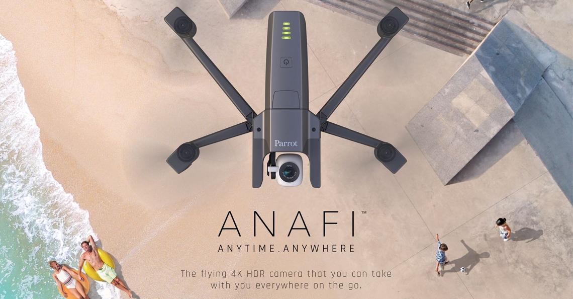 Parrot presenteert nieuwe consumentendrone ANAFI