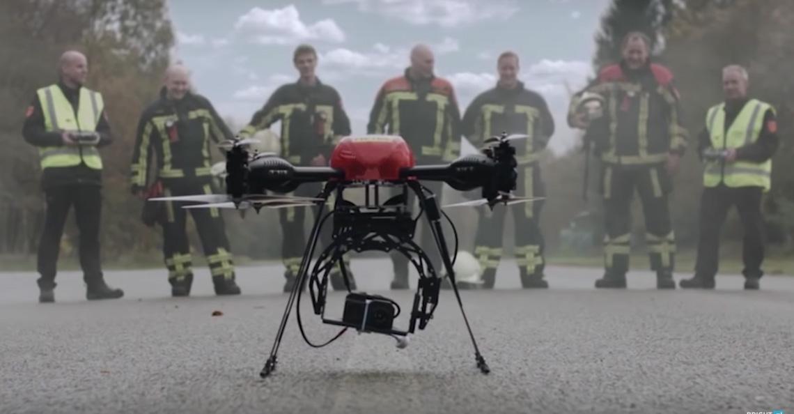 Brandweer mag drones landelijk inzetten