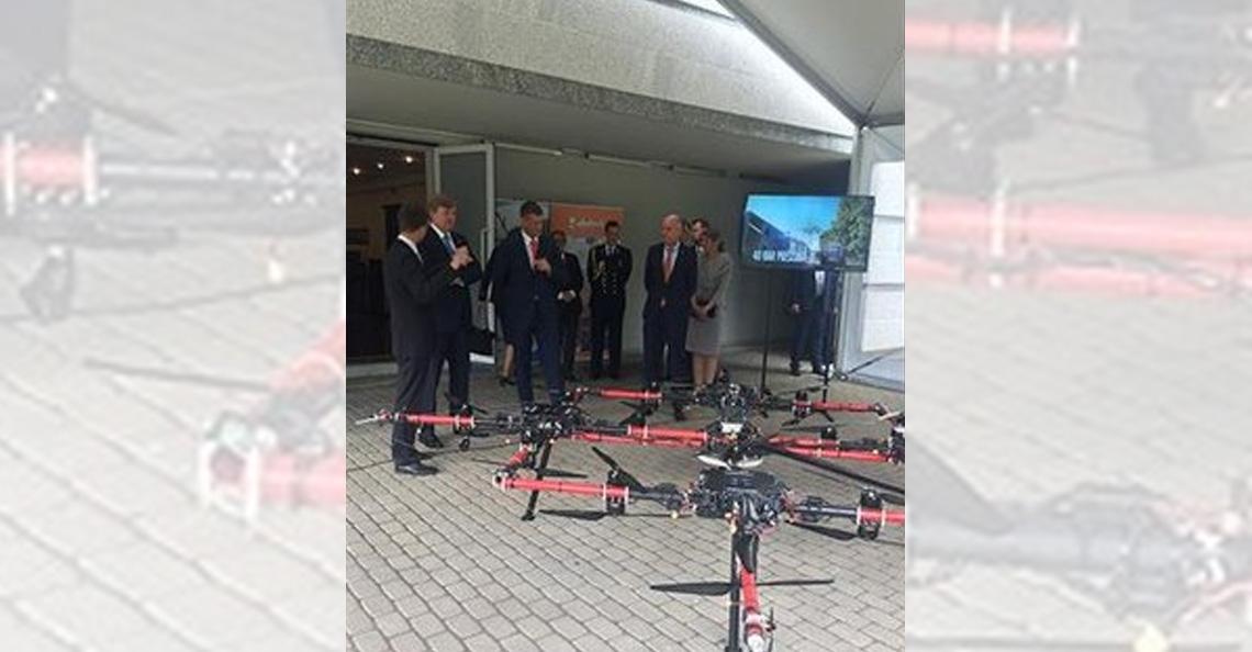 Ook koning Willlem-Alexander heeft een drone!