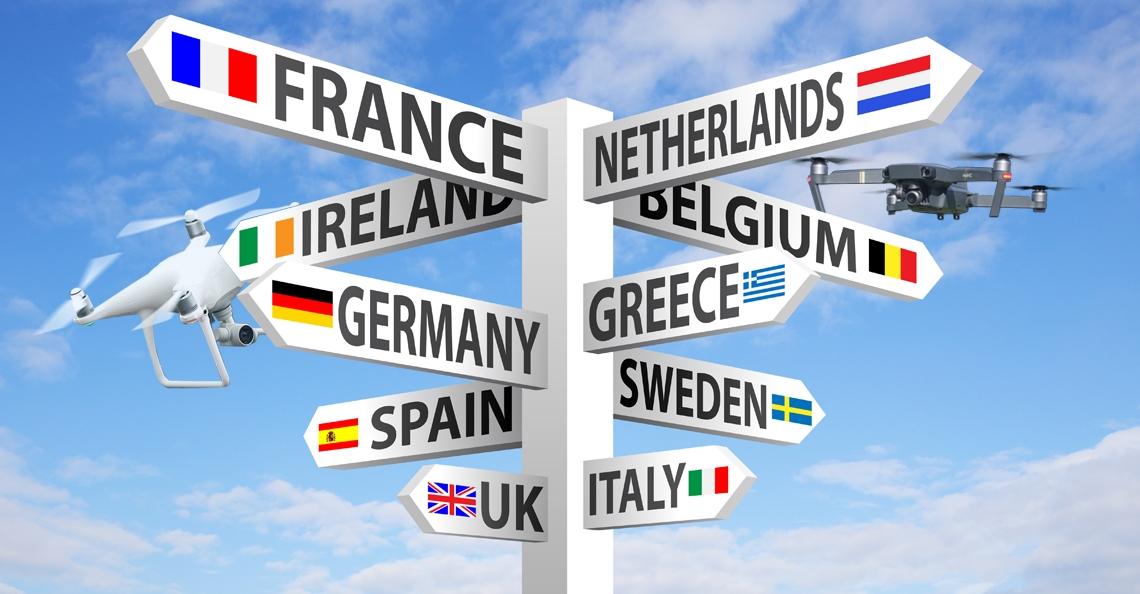 Europarlement geeft akkoord op Europese droneregels