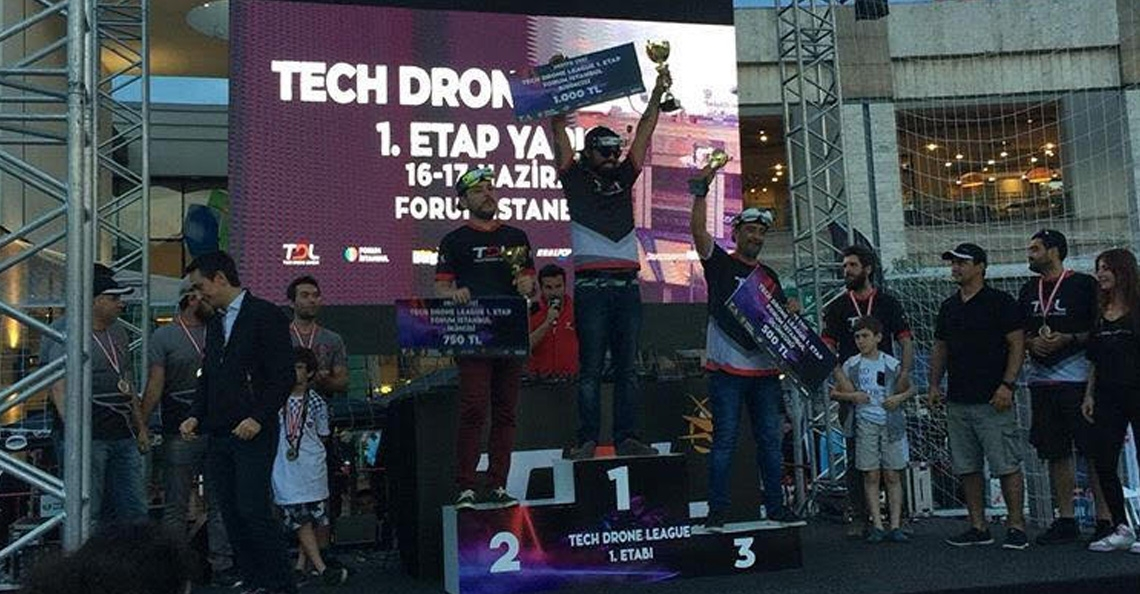 Nederlander wint Tech Drone League 2018 in Turkije