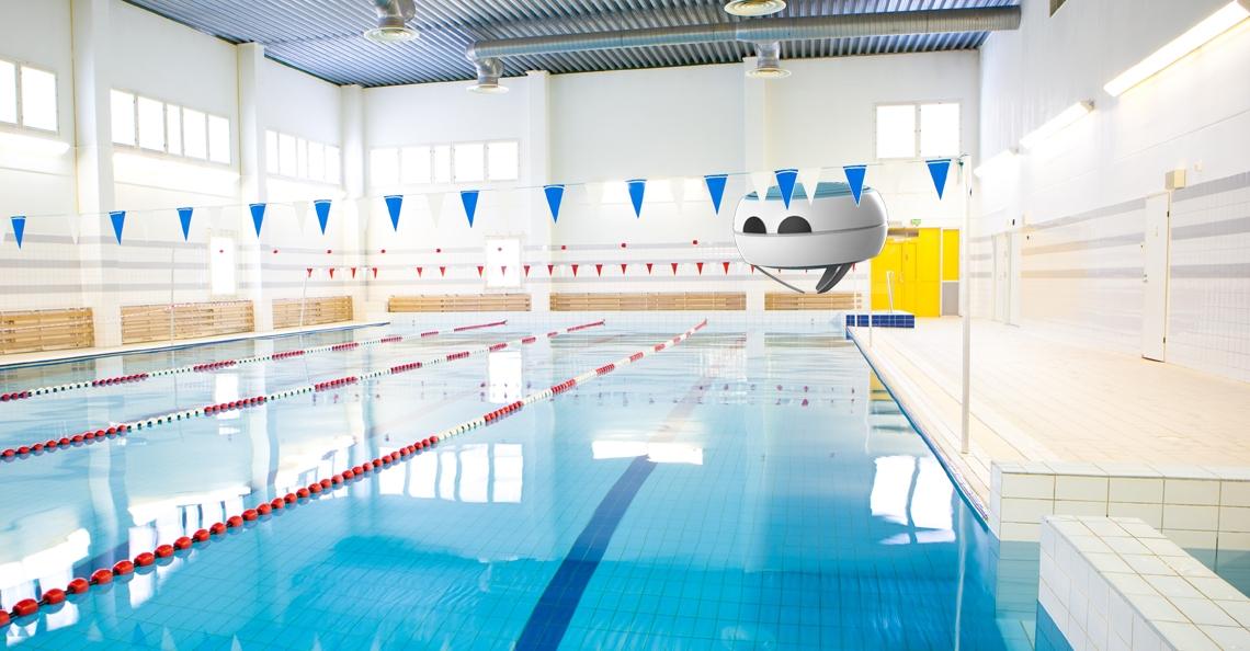 Blue Jay drone redt drenkelingen in het zwembad