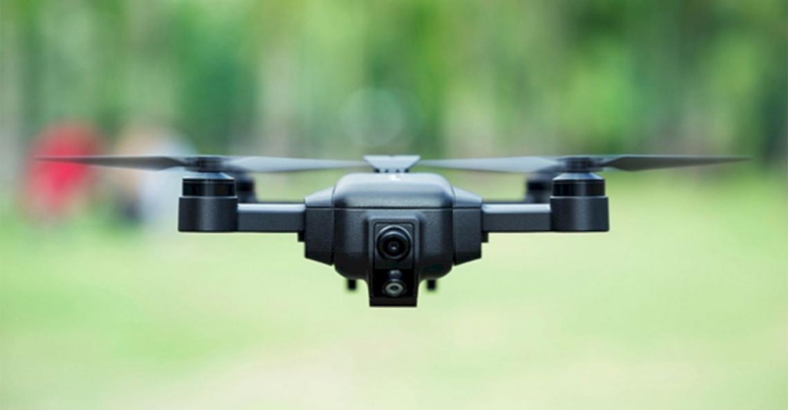 Mark Drone: Ultra-intelligente en opvouwbare drone op Kickstarter