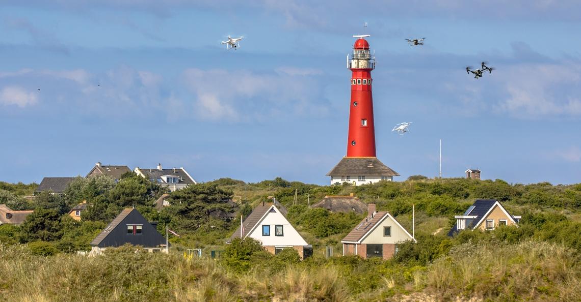 Gemeente schiermonnikoog vraagt Minister om strengere droneregels