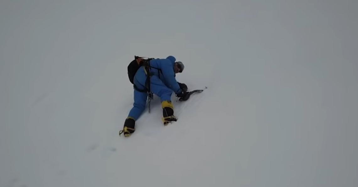 Vermiste bergbeklimmer bij toeval gered door DJI Mavic Pro drone