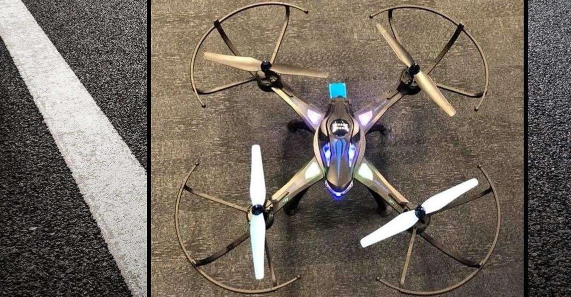 Politie Venlo op zoek naar eigenaar gevonden drone A73