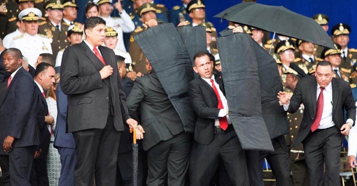 President Venezuela mogelijk doelwit van drone aanval