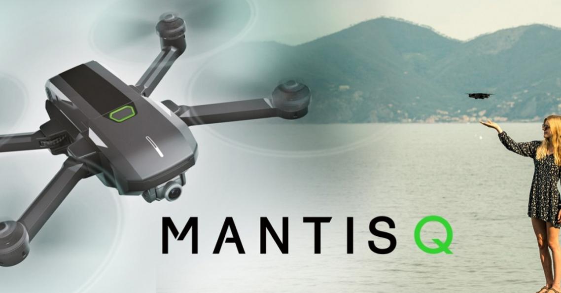 Yuneec introduceert Mantis Q opvouwbare drone