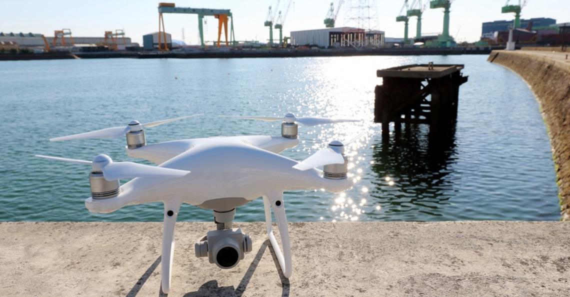 Beveiliging zeehaven Moerdijk mogelijk met drones