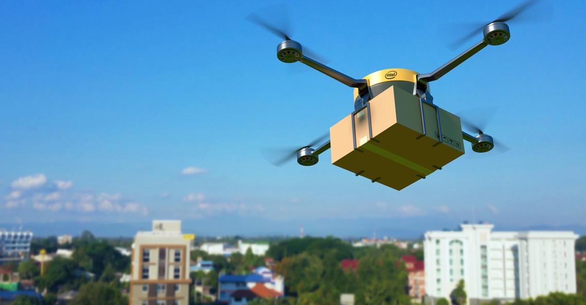 Intel ontwikkelt Bluetooth-systeem om drone-botsingen te voorkomen