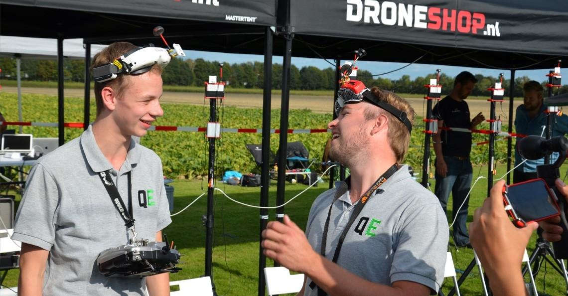 Niels Meerdink (Nelis FPV) wint ranking 6 van NK Drone Race 2018