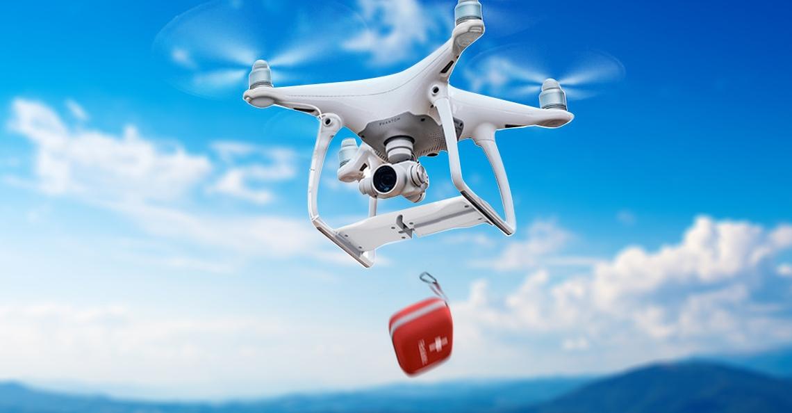 PGYTECH lanceert Airdropsysteem voor Phantom 4 Drone
