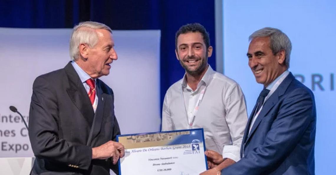 Revolutionair Drone Ambulance concept wint innovatieprijs