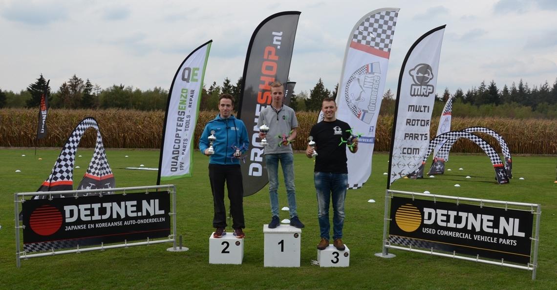 Dennis Mennema wint laatste ranking van NK Drone Race 2018