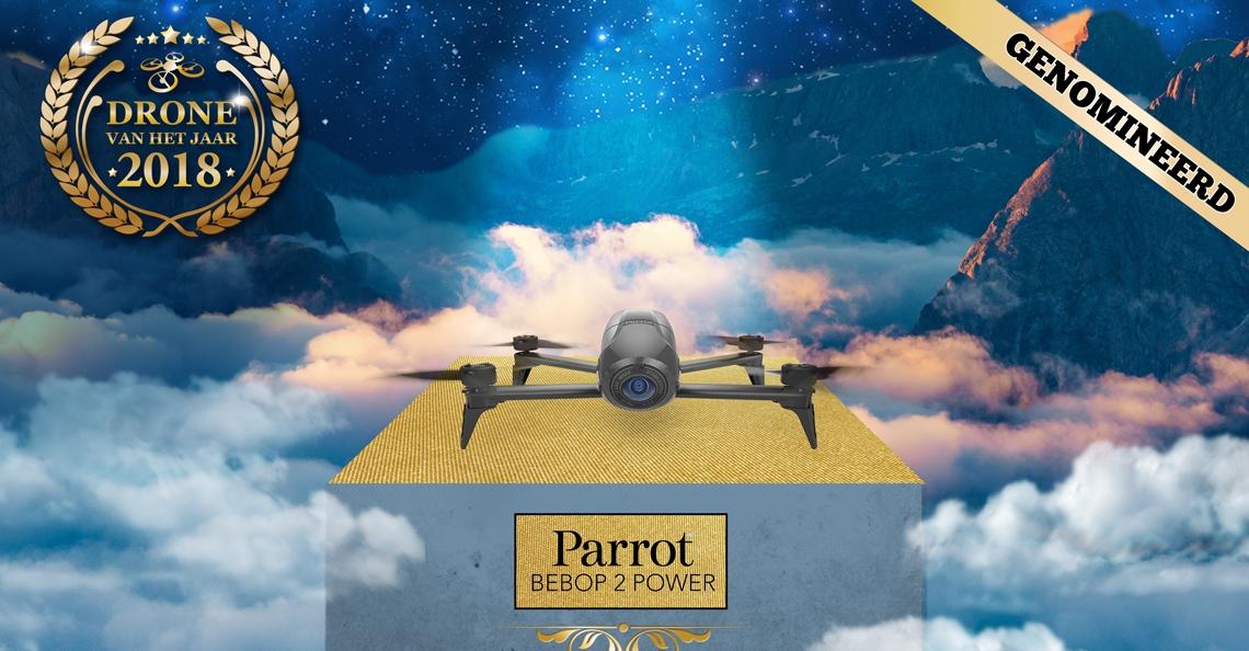 Drone van het Jaar 2018 nominatie: Parrot Bebop 2 Power