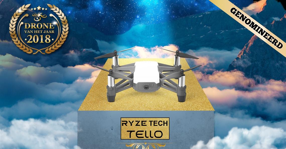 Drone van het Jaar 2018 Nominatie: Ryze Tech Tello