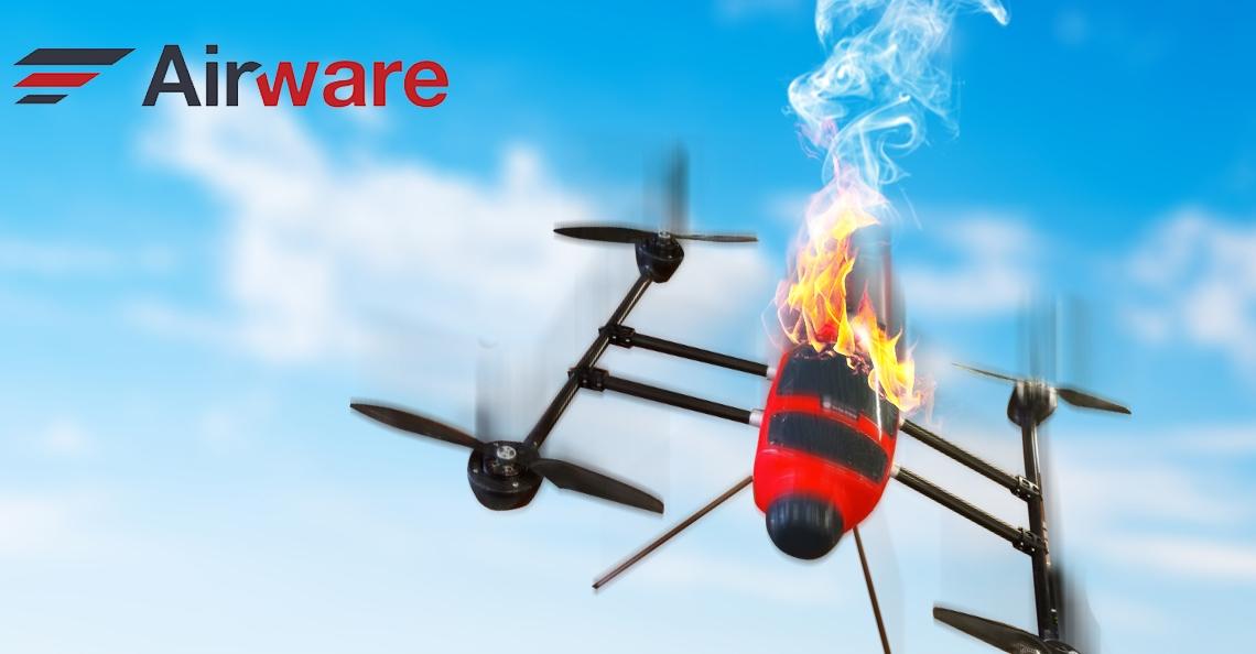 Airware financieel in vrije val