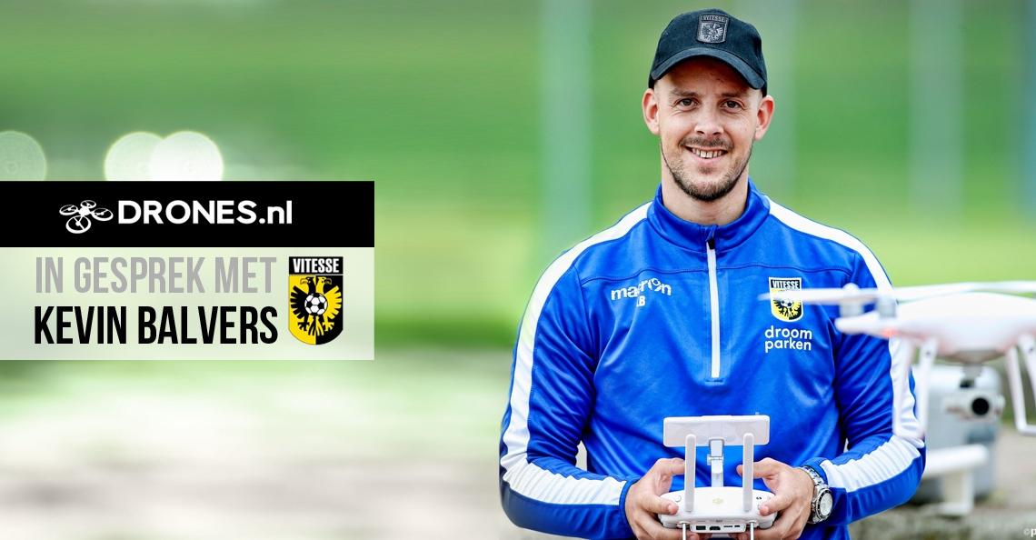 In gesprek met Kevin Balvers van Vitesse over voetbal en drones