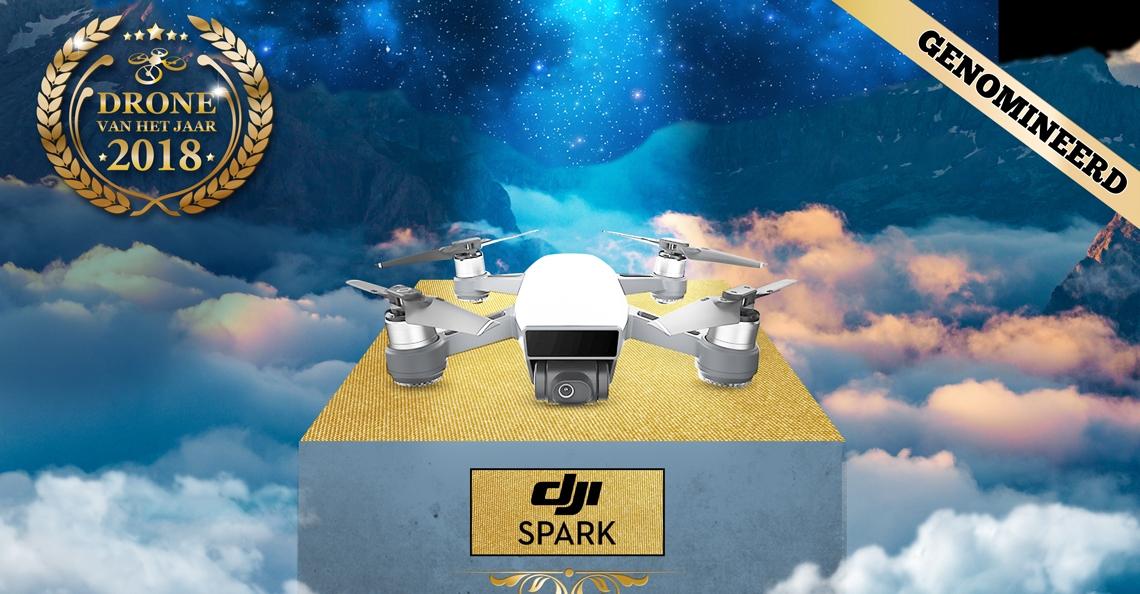 Drone van het Jaar 2018 Nominatie: DJI Spark