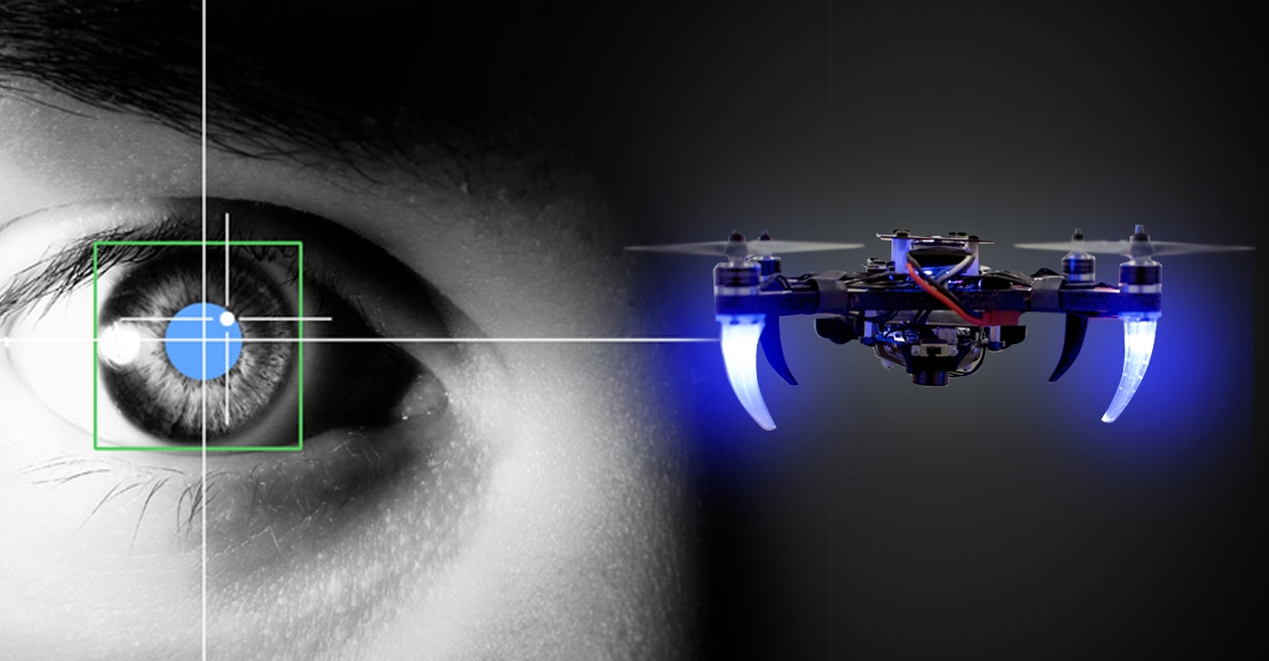 Bestuur een drone met je ogen