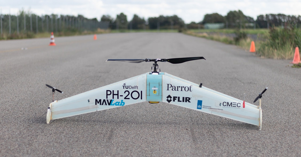 TU Delft drone gaat voor goud tijdens UAV Medical Express Challenge 2018
