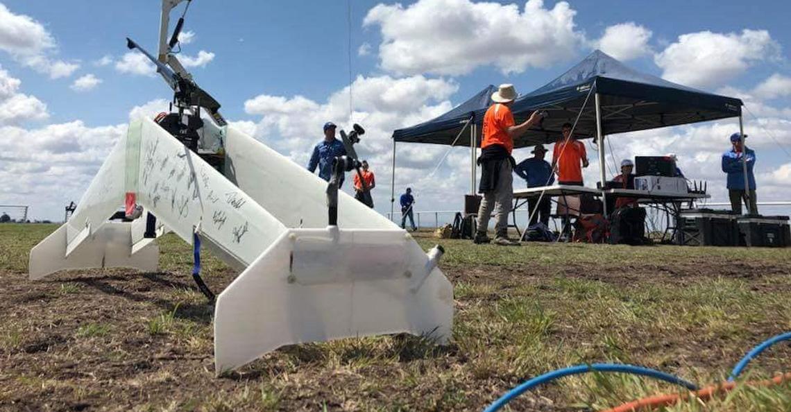 Geen gouden plak voor TU-Delft drone tijdens UAV Medical Express Challenge 2018