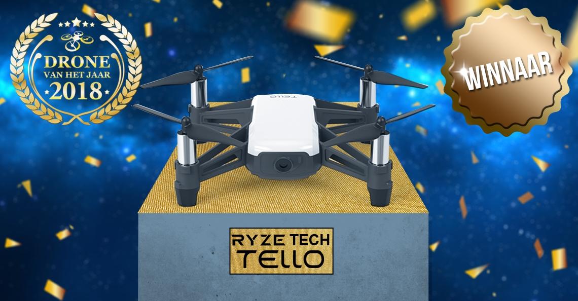 Ryze Tech Tello verkozen tot Drone van het Jaar 2018!