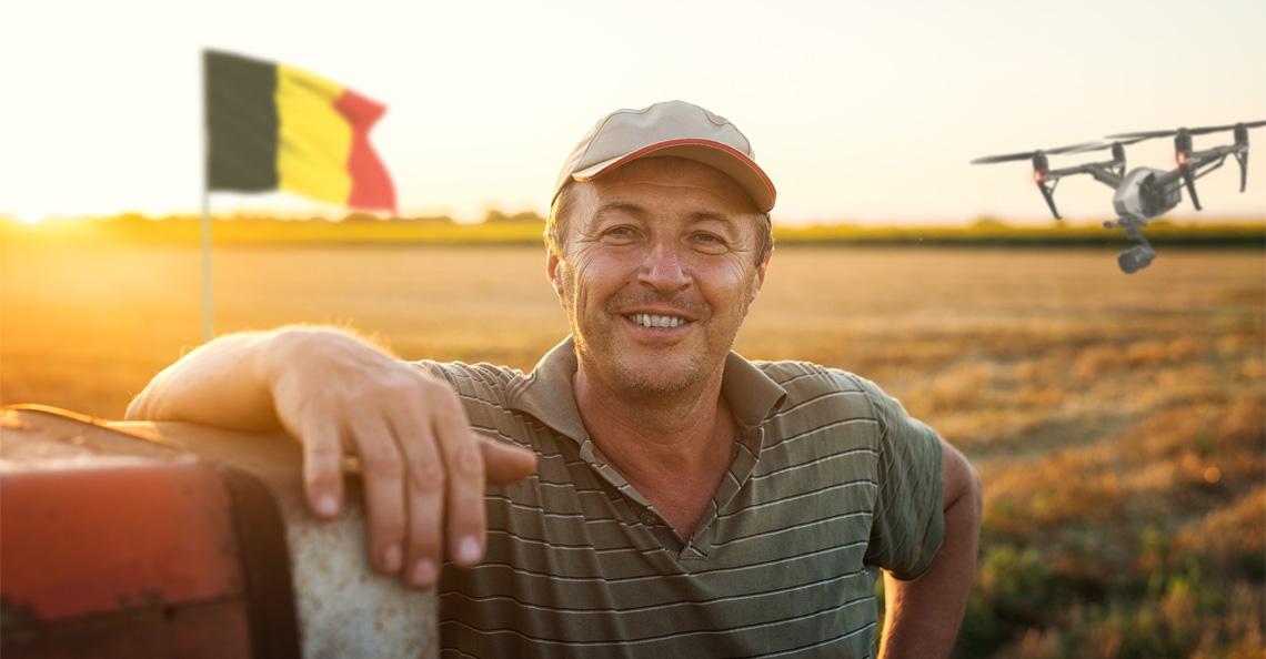 Belgische akkerbouwers tonen interesse in drones